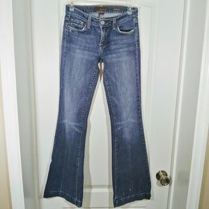 Fossil Women's Distressed Blue Jeans Size 26L